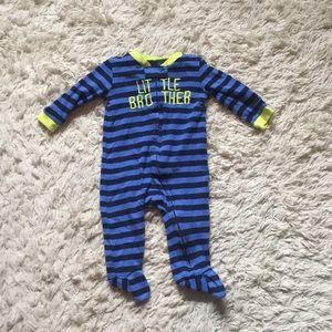 Carter's Little Brother Footie Pajamas